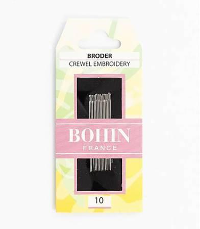 Aiguilles à broder 1/10 - Bohin