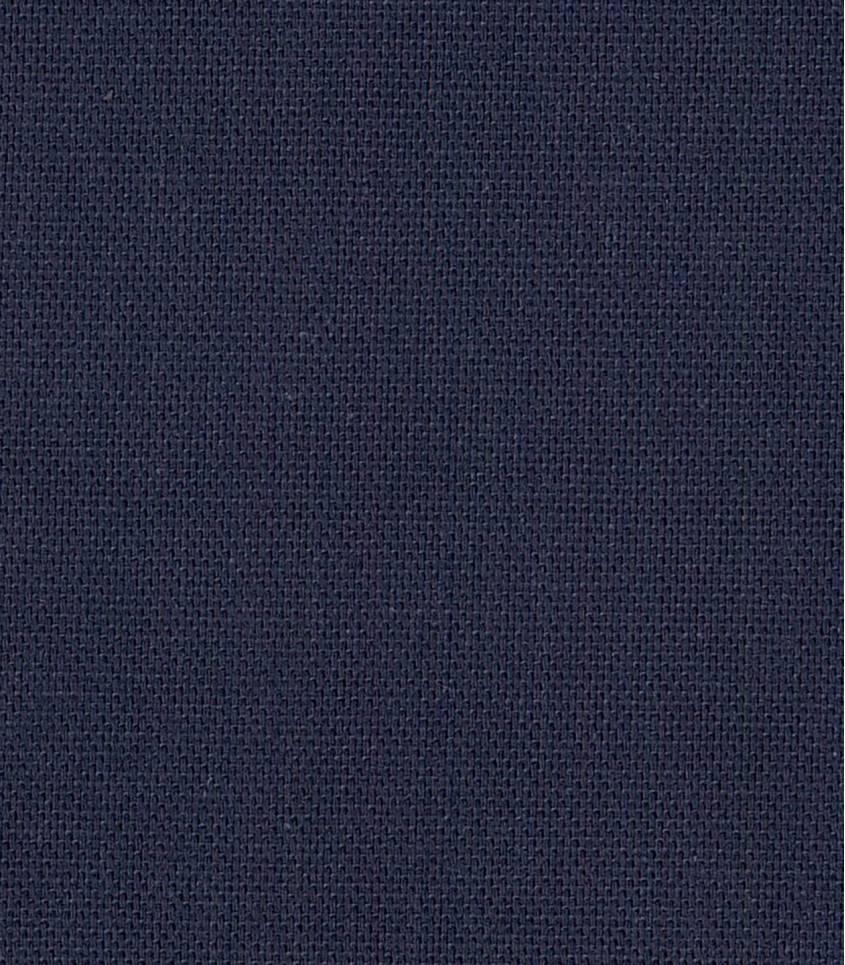 Tissu coton demi natté  bleu marine