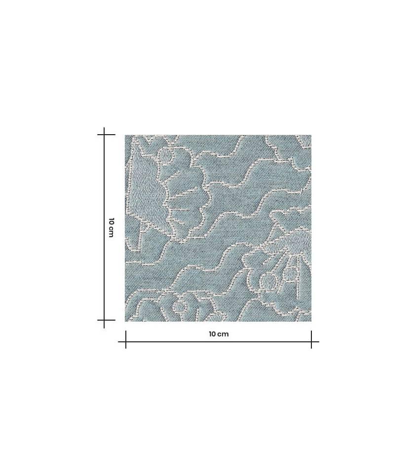 Tissu jacquard Seashell - Aqua