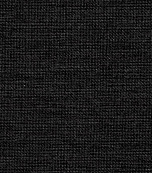 Tissu coton demi natté noire