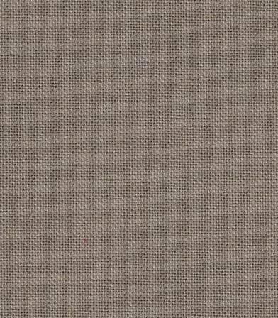Tissu coton demi natté taupe
