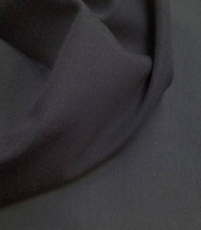 Tissu bio Raw dots carbone