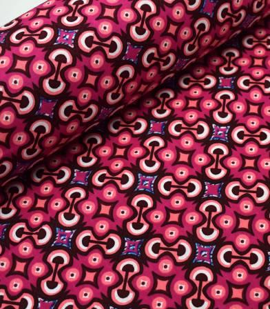 Tissu wax - Pink Psyche