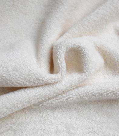 Tissu Microéponge coton bio - Double face (Eponge/Eponge)