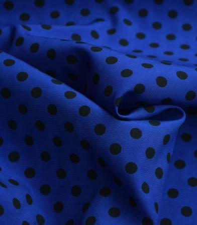 Tissu viscose cupro - Alice azzuro