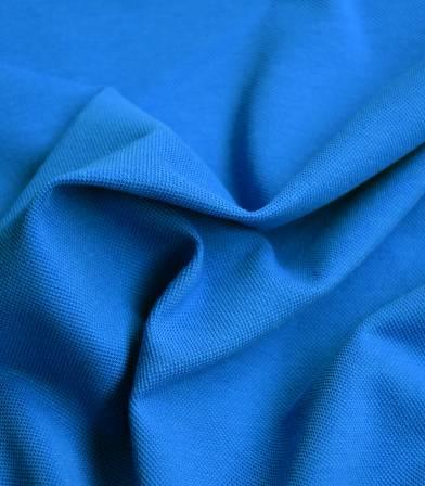 Tissu Jersey polo - bleu