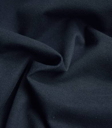 Tissu Jersey polo - Marine