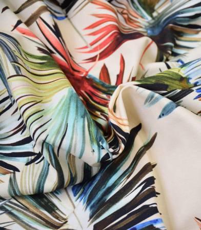 Tissu jersey palme - Multico