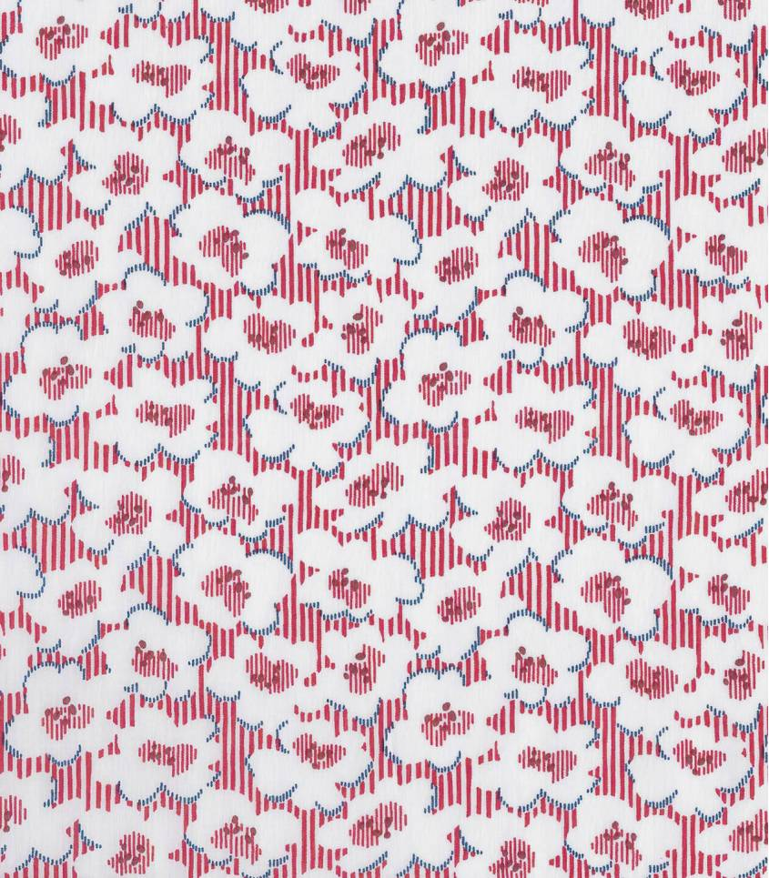 Tissu Liberty Deckhair Daze - red