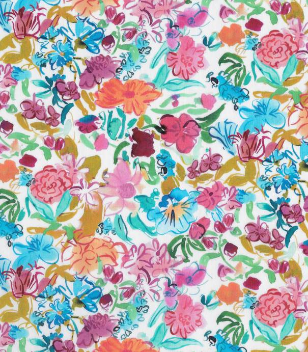 Tissu Liberty Matilda May - pink