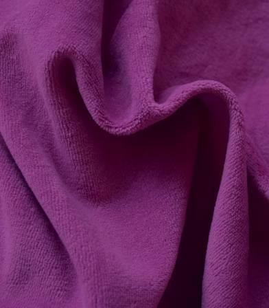 Tissu Jersey velours - Purple