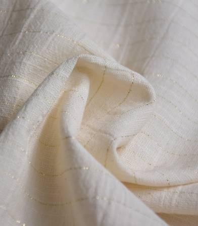 Gaze de coton - Sari Gold