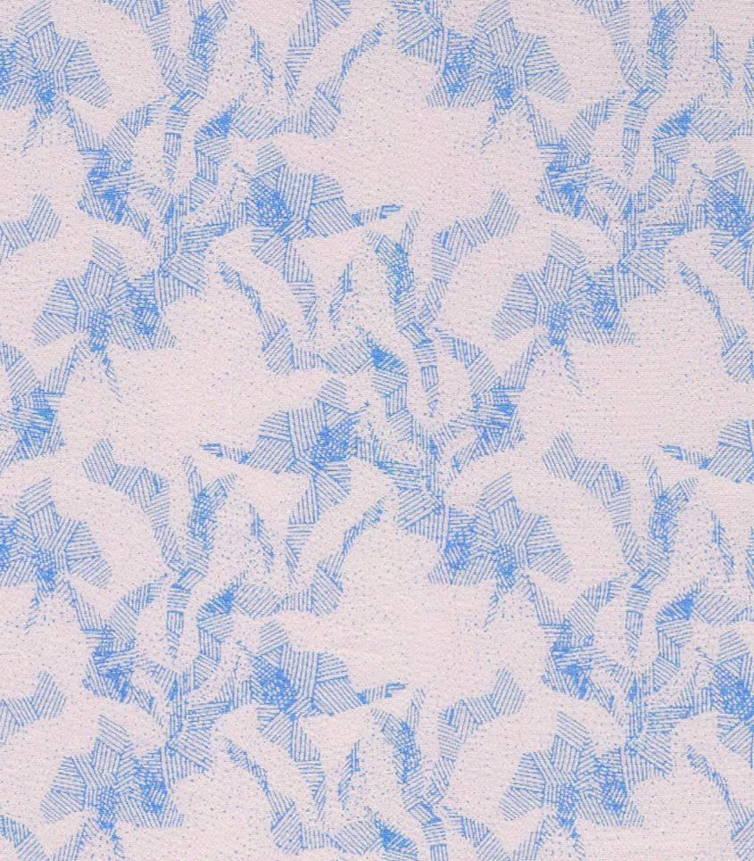 Tissu viscose Abstract mountain - quartz rose