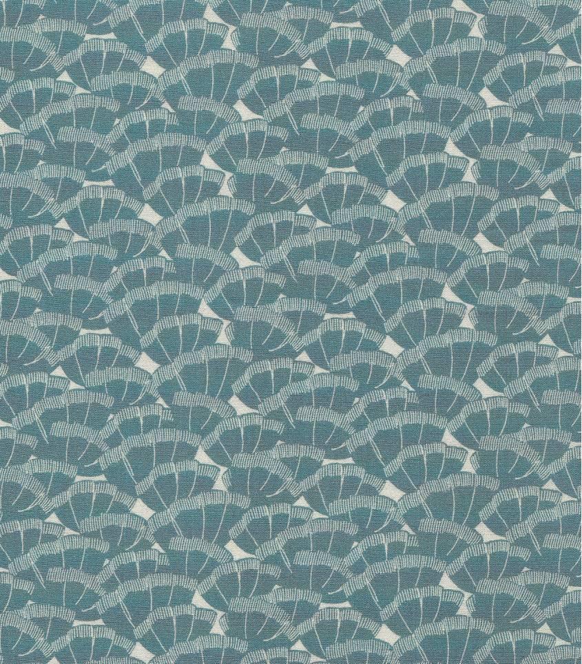 Tissu viscose Discrète - vert de gris