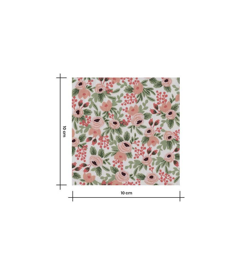 Tissu Rosa - Rose