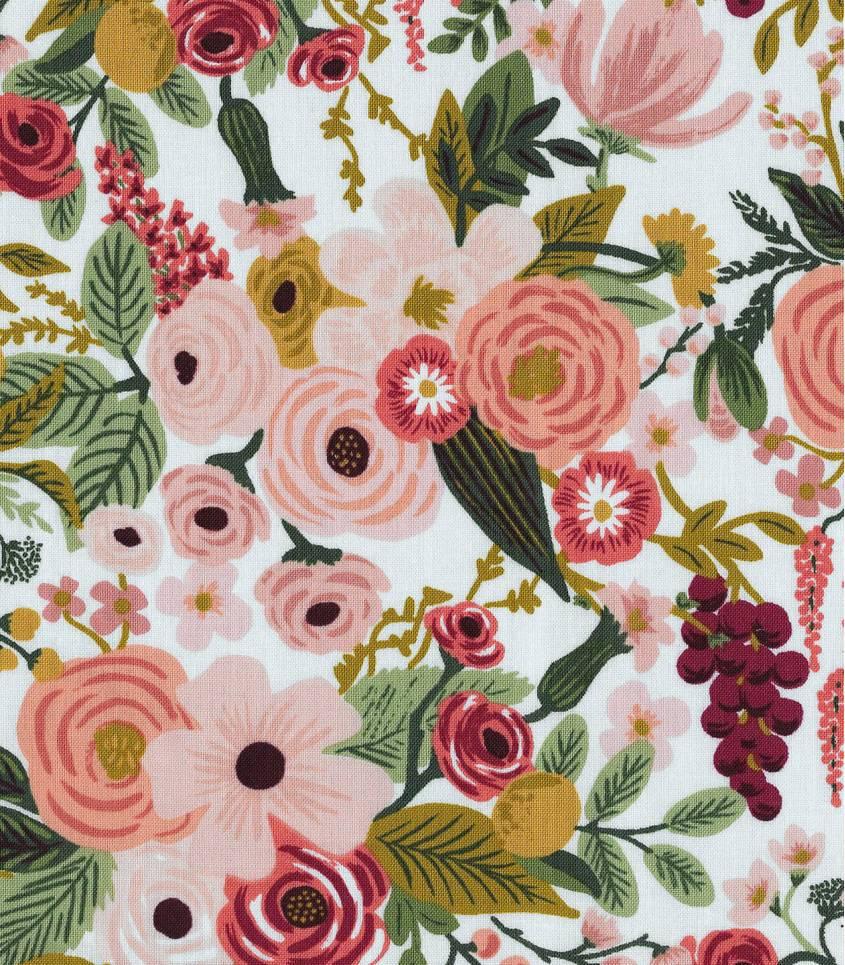 Tissu Garden Party - Rose