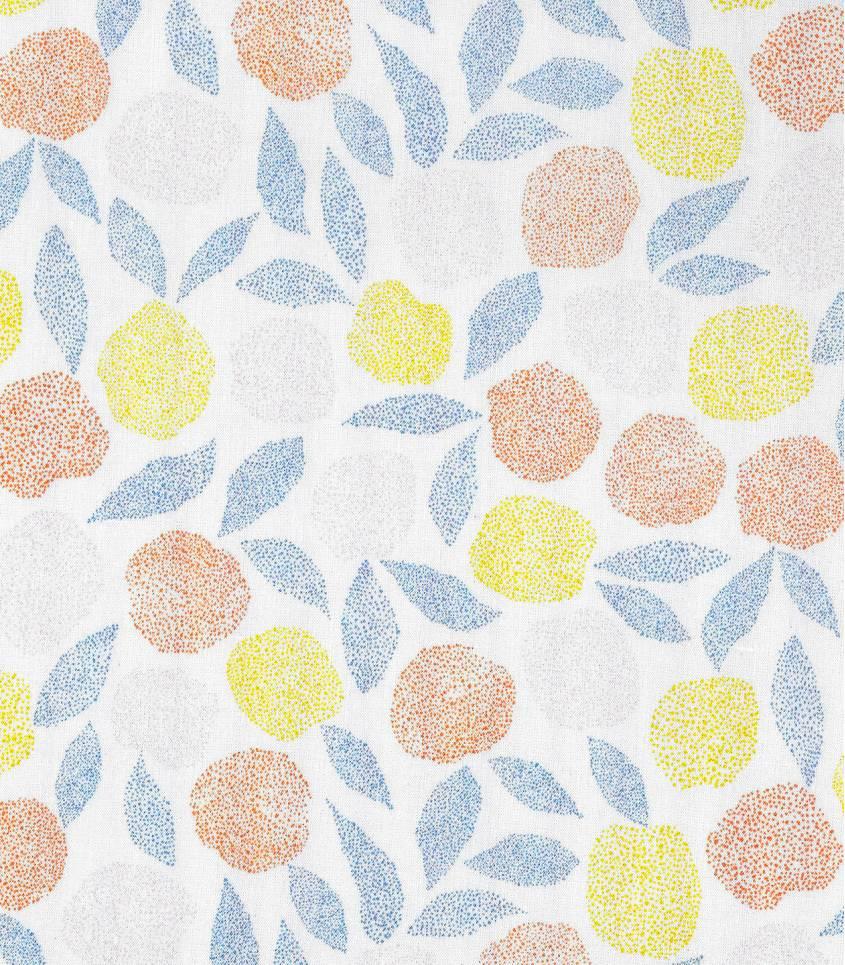 Tissu viscose Fruit d'été