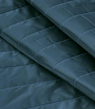 Tissu matelassé métallisé - Blue