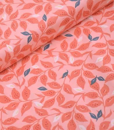 Tissu coton Woodcut Sunset