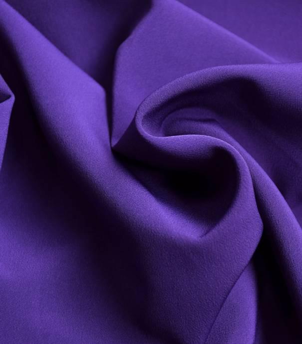 Luxury crêpe purple