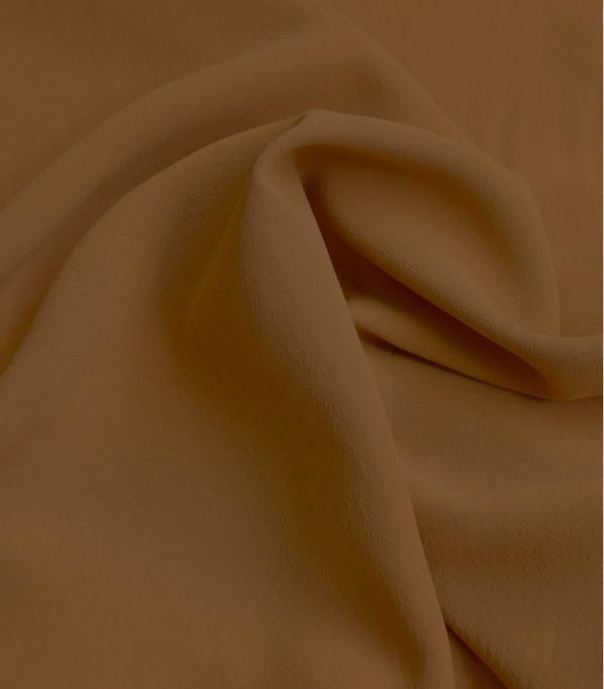Tissu viscose Stonewashed - Ocre jaune