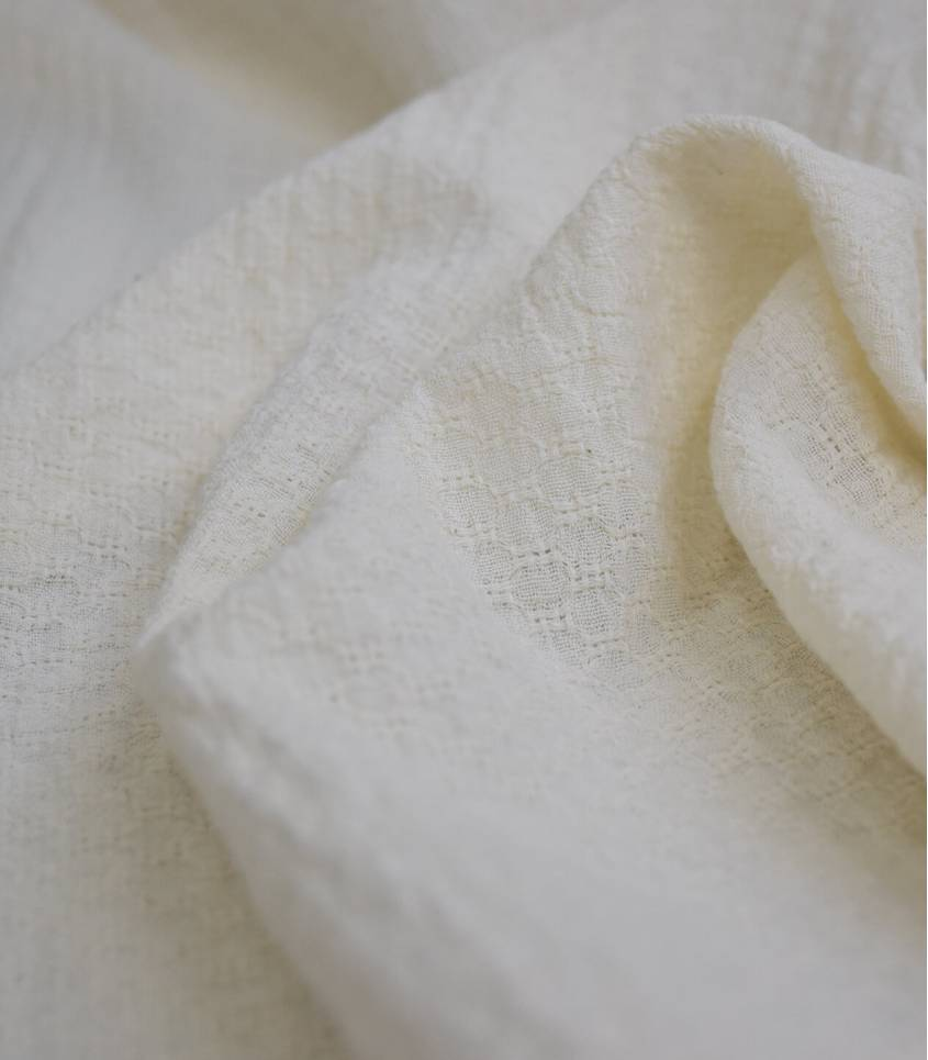 Tissu coton Marcello - écru