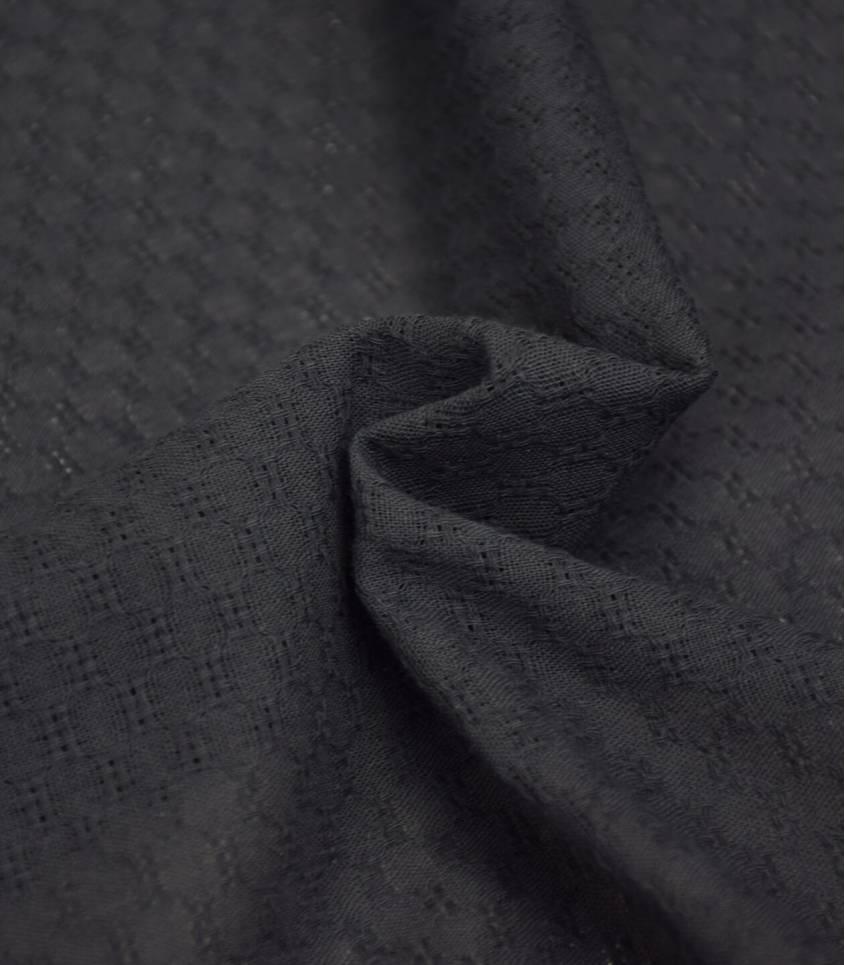 Tissu coton Marcello - anthracite