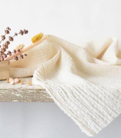 Tissu coton Marcello - Ecru