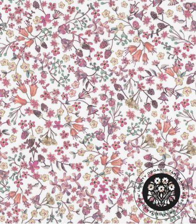 Liberty Organic - Donna Leigh Pétunia