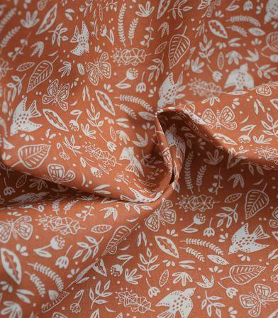 Tissu coton - Paz Sienne