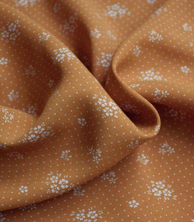 Tissu viscose Gabrielle - Honey