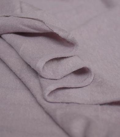 Tissu jersey lin - Lilac