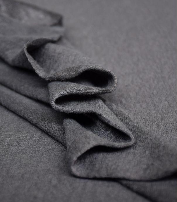 Tissu jersey lin - Calm Grey