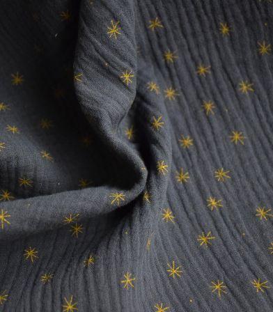 Double gaze - stars grey