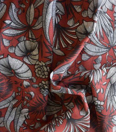 Tissu coton - Java Terra