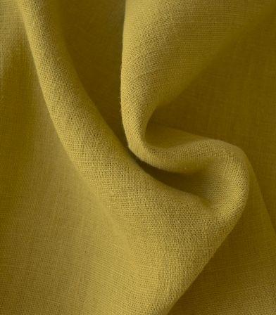 Tissu lin lavé Chartreuse
