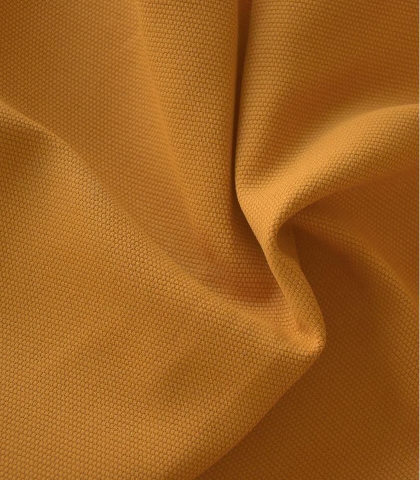 Tissu natté de coton - Or