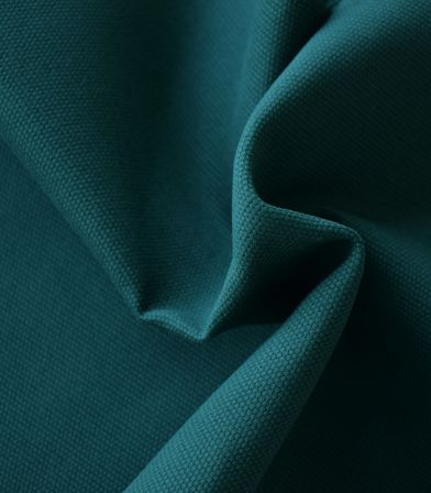 Tissu natté de coton - Canard