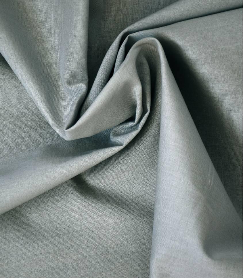 Voile de coton gris clair