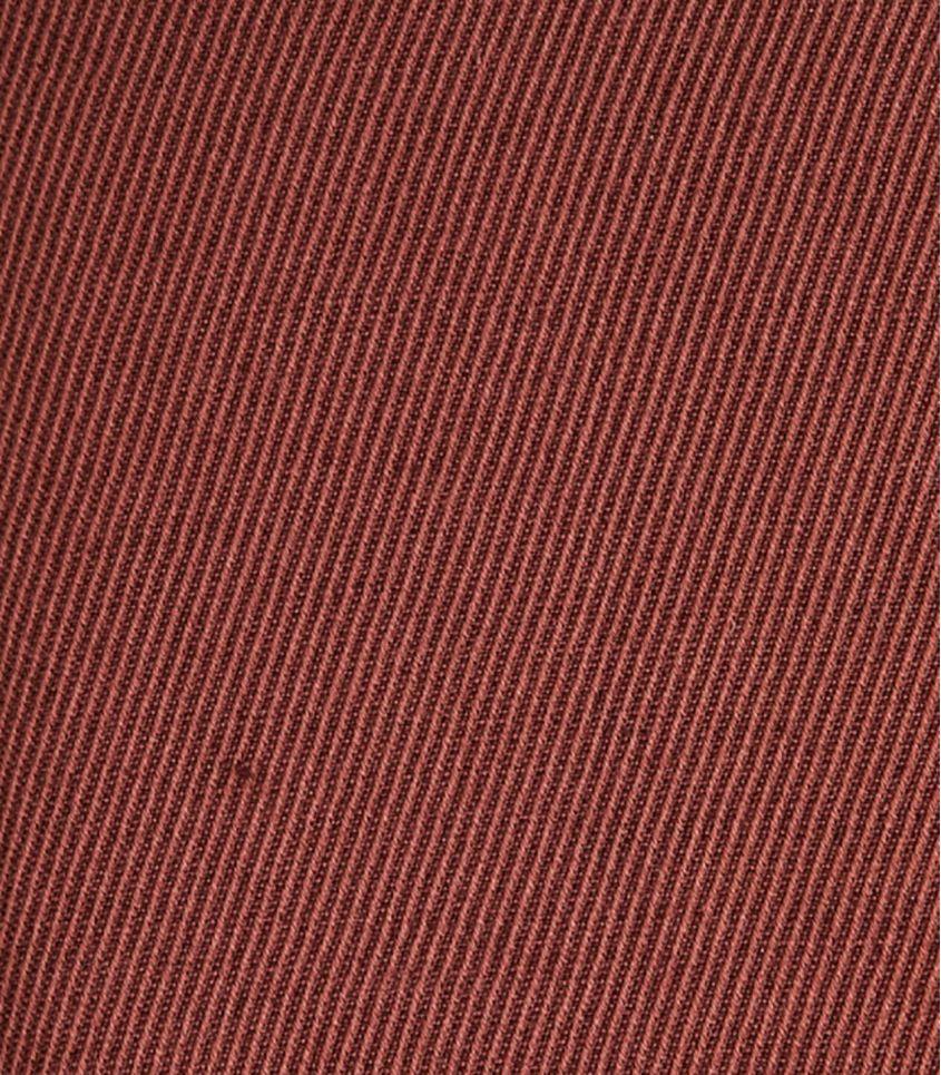 Tissu Twill Lin / Coton - Sienne