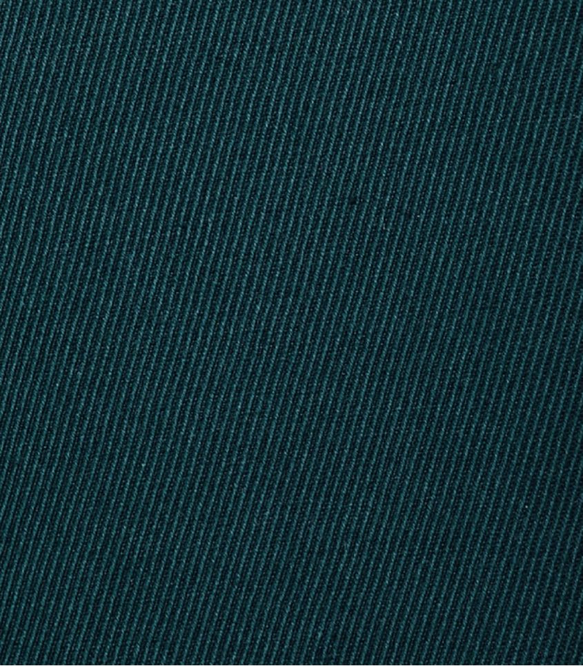 Tissu Twill Lin / Coton - Bottle green