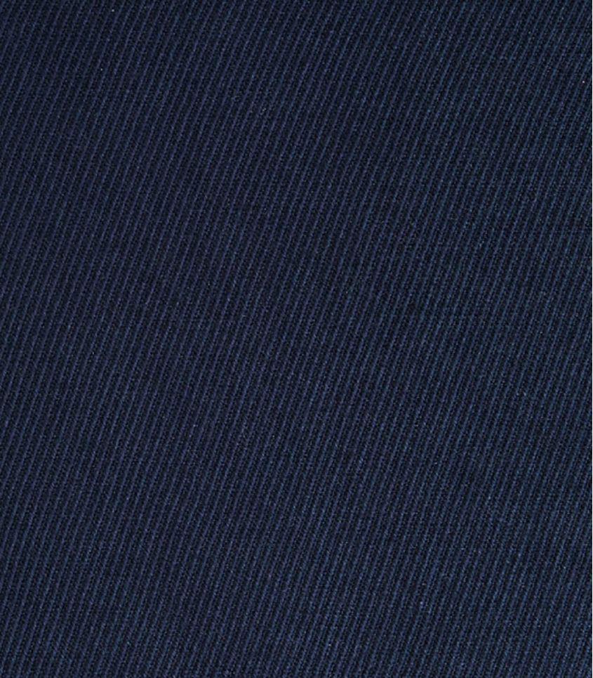 Tissu Twill Lin / Coton - Indigo night