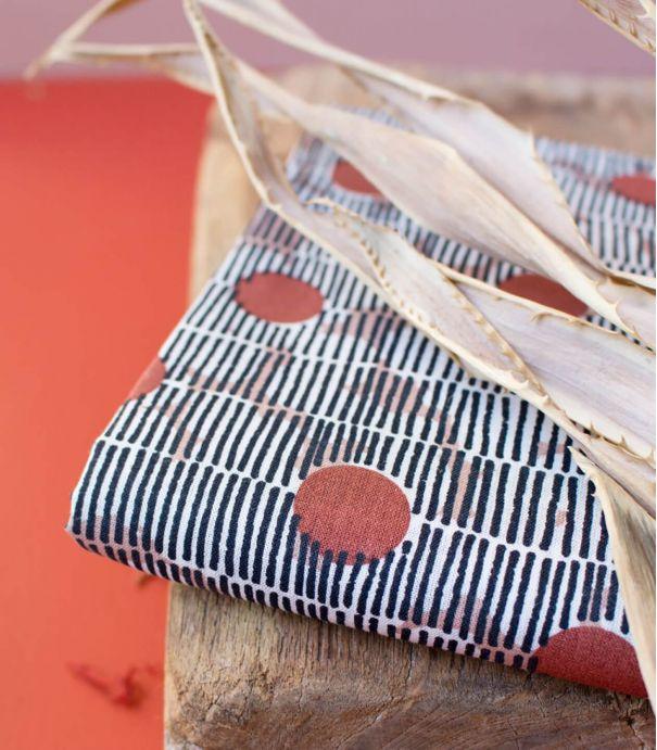 Tissu coton Mirage Chesnut