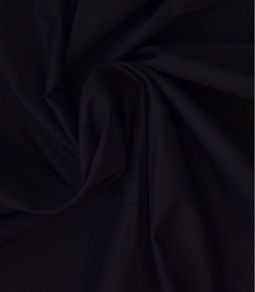 Voile de coton noir