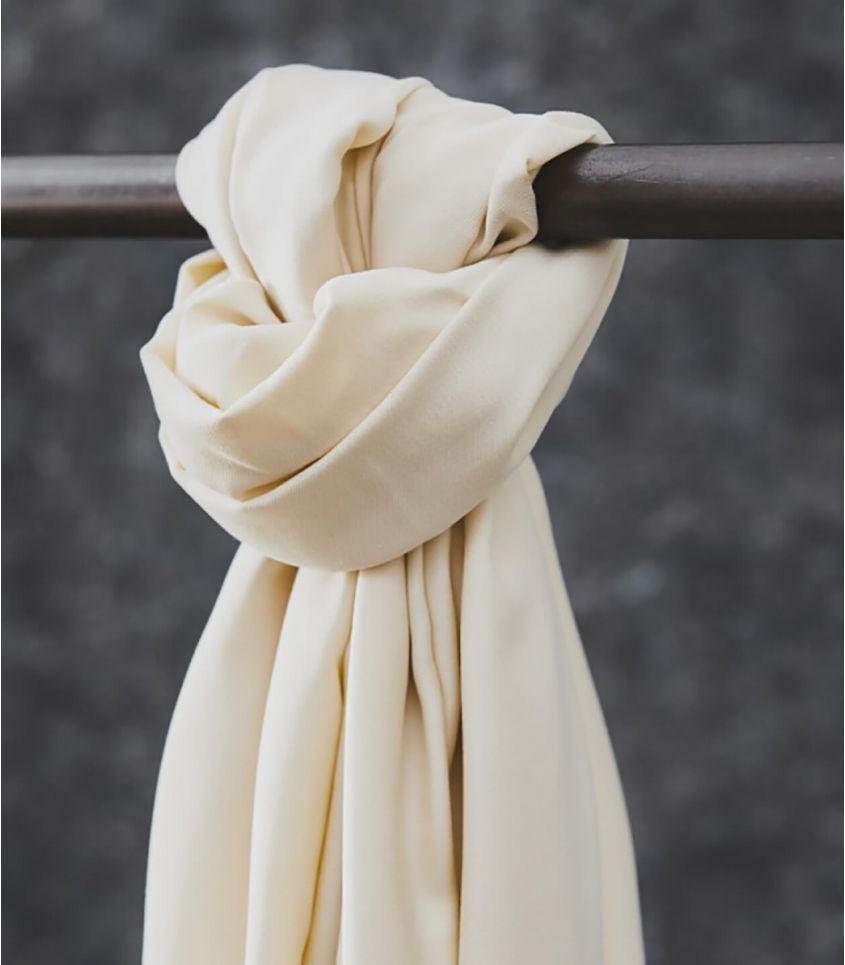 Tissu smooth drape twill - Seashell