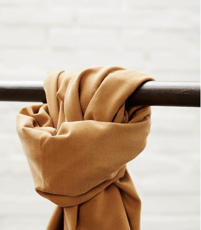 Tissu Soft Stretch twill - Mustard