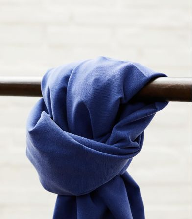 Tissu Soft Stretch twill - Lapis