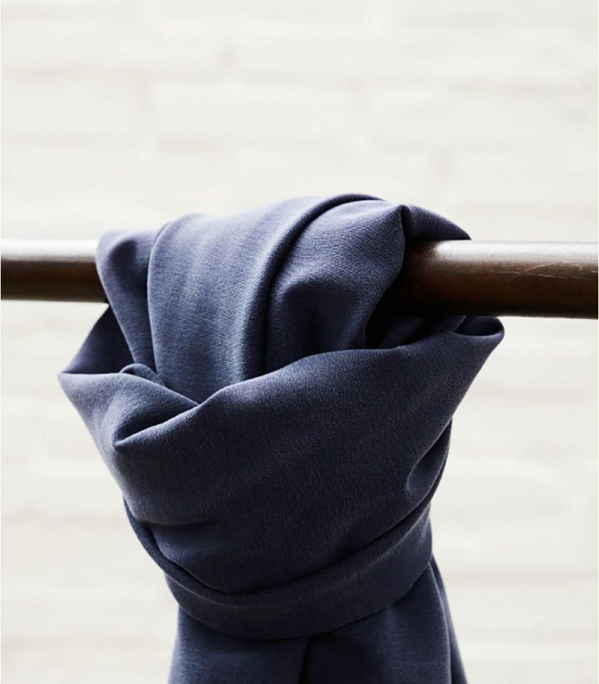 Tissu Soft Stretch twill - Blueberry