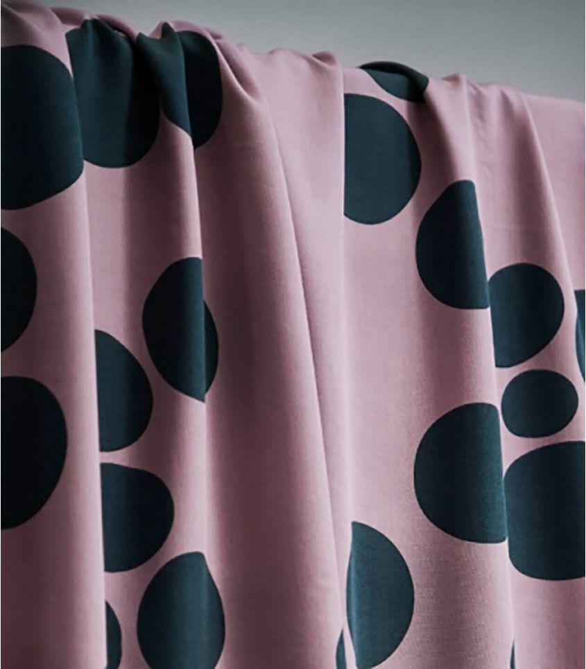 Tissu viscose - About a Dot Lilac