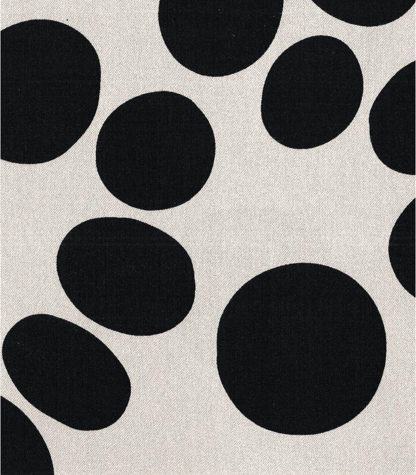 Tissu viscose - About a Dot Creamy White